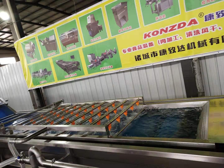 海南蔬菜末清洗机自动温控调节自动水位控制专业售后团队服务