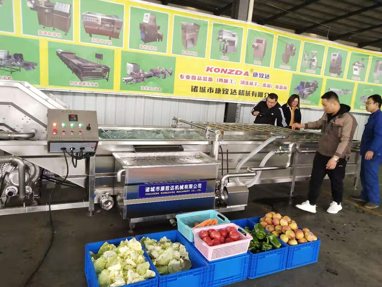 宁德高压水果蔬菜清洗机定制加工技术支持