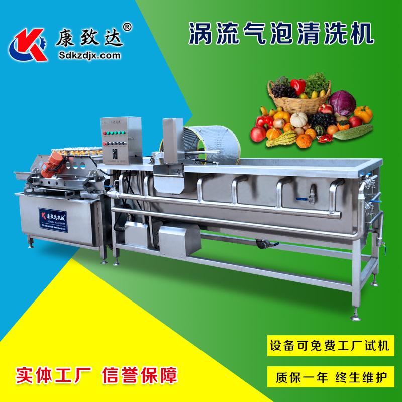 海南蓝莓清洗机水循环利用节水环保减少排污果蔬清洗机