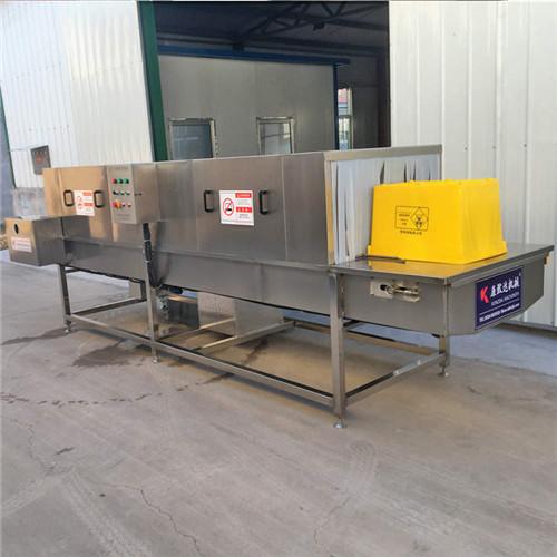 海南医疗垃圾专用箱清洗机高压360度可调节喷头清洗彻底无残留
