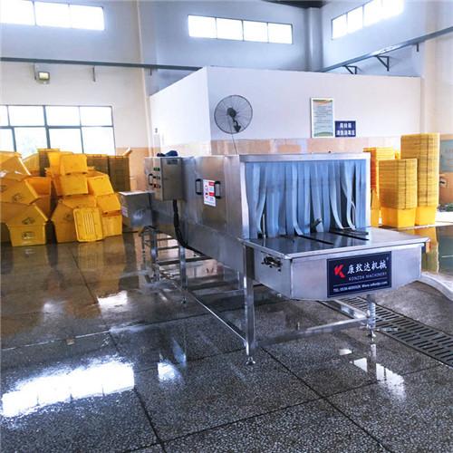 海南医疗器具筐清洗机高压喷淋360度无损清洗不伤容器效率高