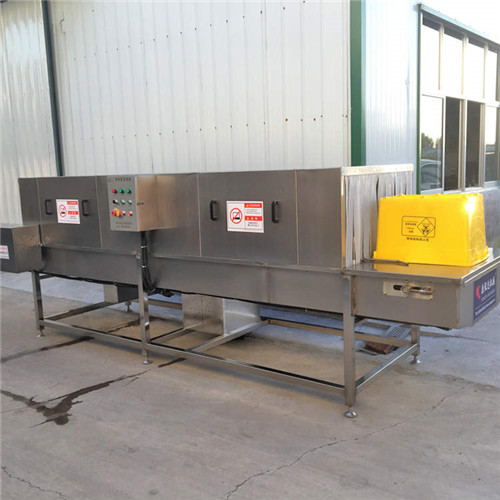 海南黄色医疗废物箱清洗机清洗多样化效率高效化