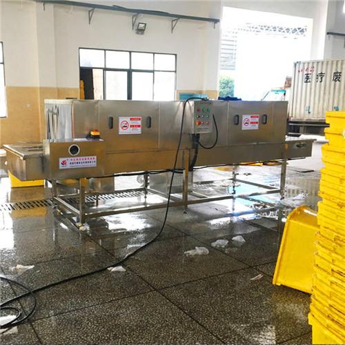 江西医疗处置箱清洗机自动去油去污去杂质操作简单用人少