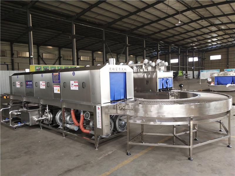 东营无土栽培料槽清洗机双通道设计节省场地提高清洗量减少人工节水环保