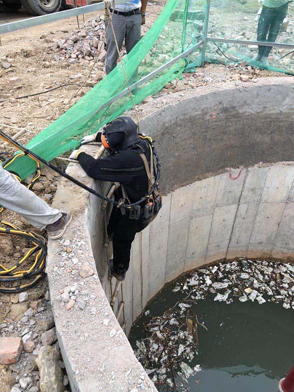 广东省惠州市管道水下封堵