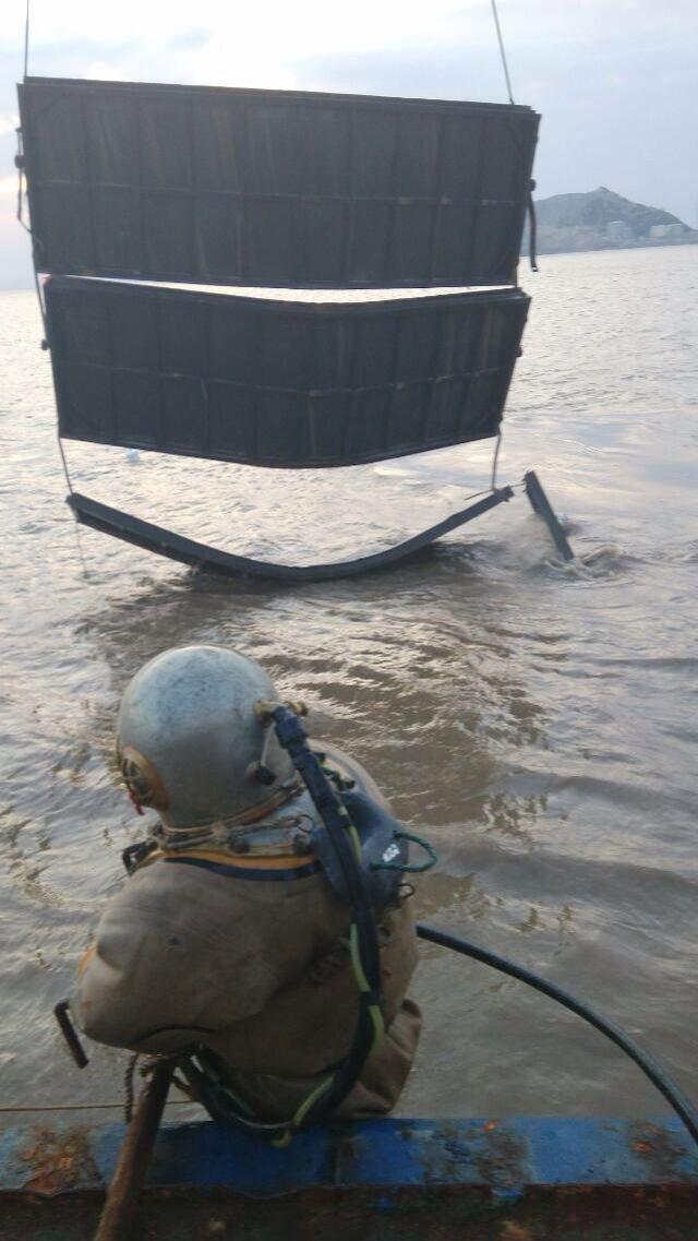 陕西省安康市管道水下封堵