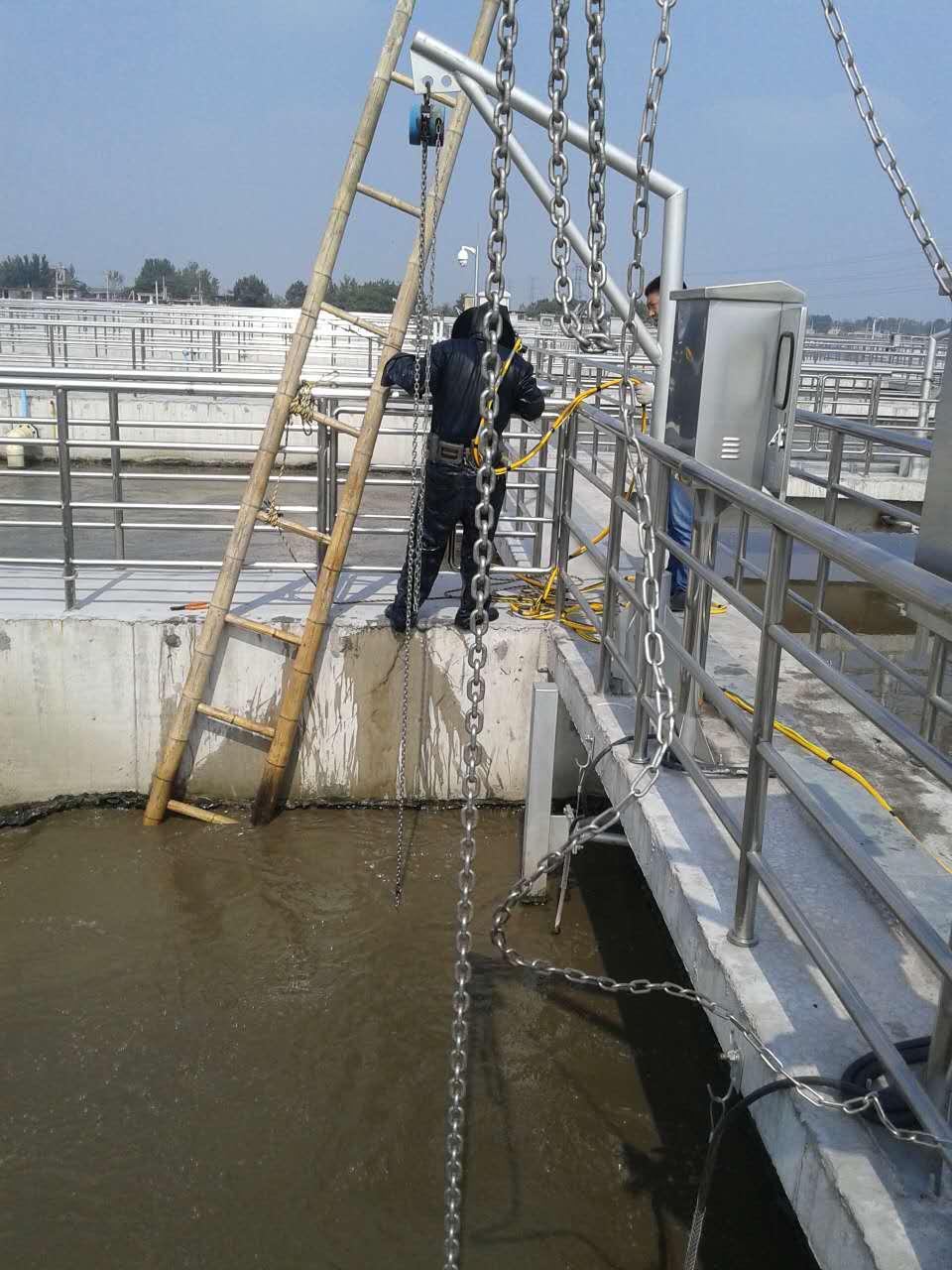 安徽省池州市气囊水下封堵