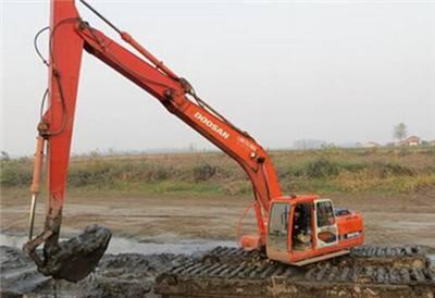 天津沼泽地挖掘机出租专业生产厂家
