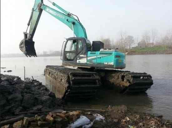 江西省水陆挖机出租厂家定做
