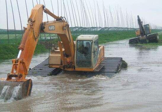 湖南沼泽地挖掘机出租值得信赖