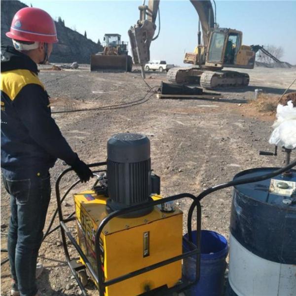 湖南液压劈裂机开挖地基介绍生厂家
