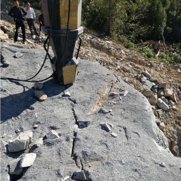 湖南水压破碎岩石劈裂机调试图片产品介绍