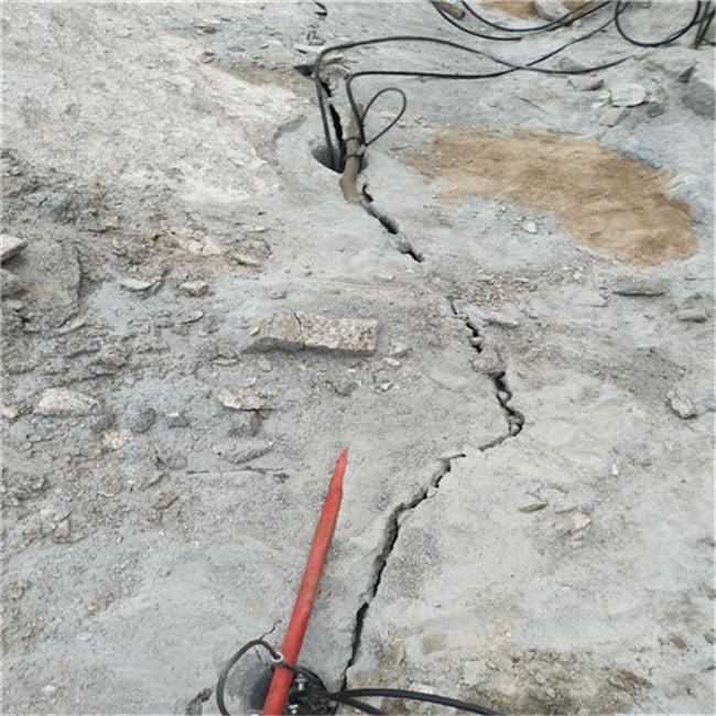 长沙/石料破碎静态石头劈裂机&按需定制