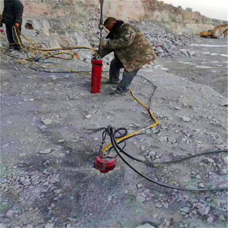 安庆/洞采矿石岩石劈裂机%行情