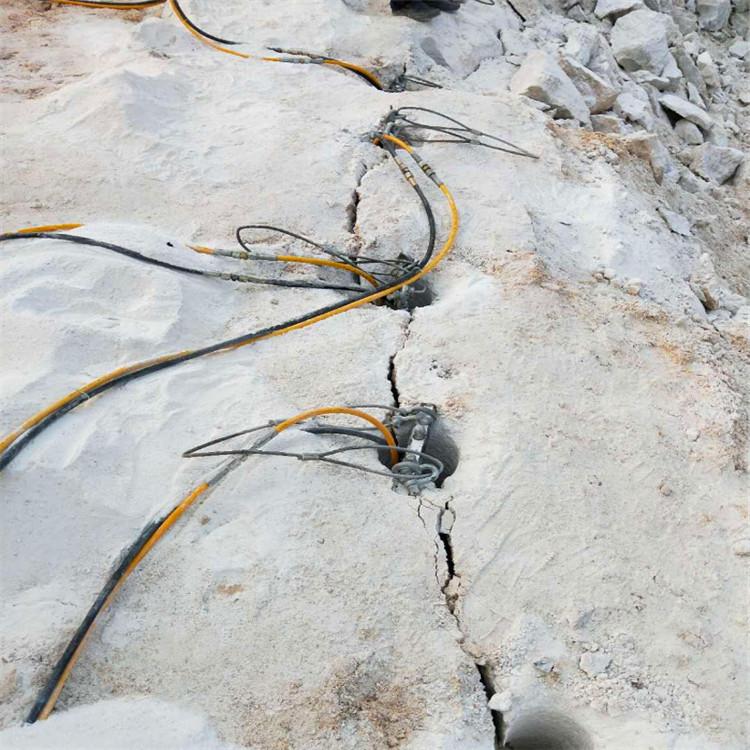 电锤打不动怎么剥离坚硬石头矿山劈裂机厂家贵州黔西南市:新闻