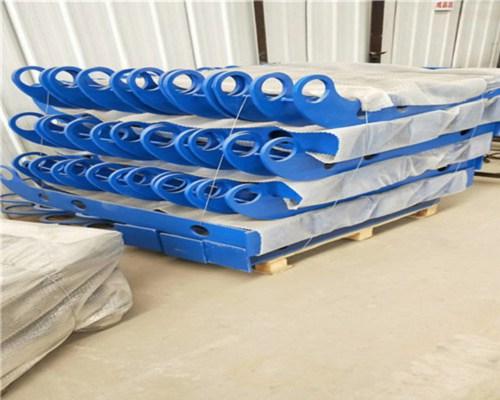 蚌埠鋼板欄桿立柱定尺