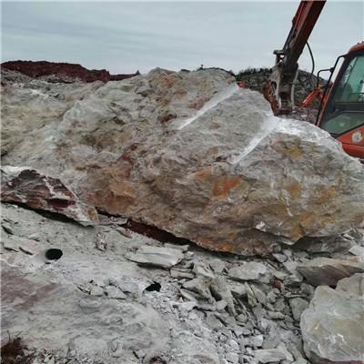 福建漳州机载液压分裂器洞采劈裂岩石