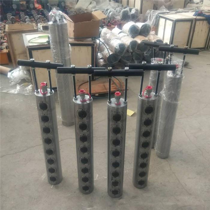排柱式劈石棒用法