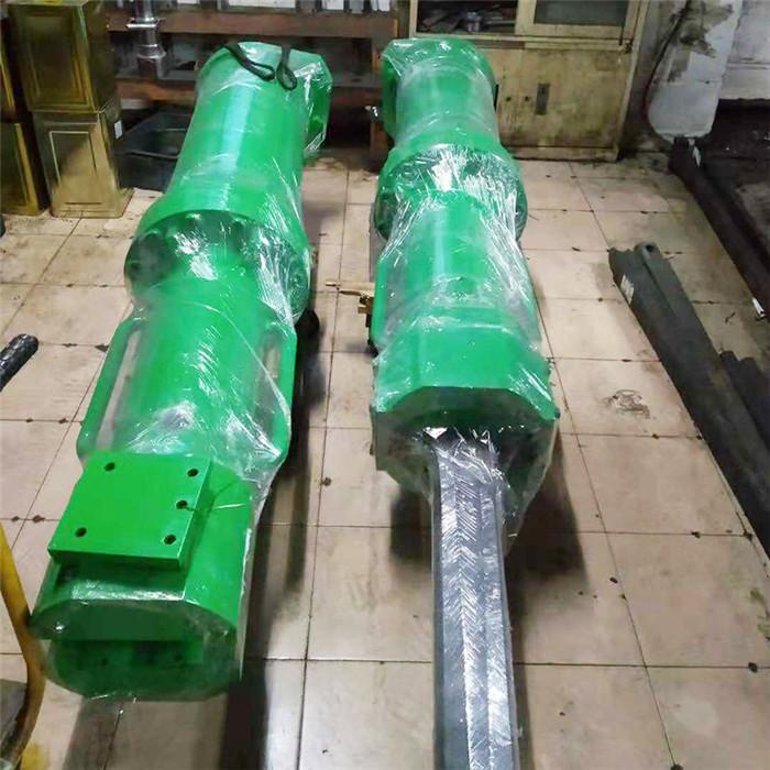 蚌埠液壓巖石劈裂機 柱塞式劈裂棒
