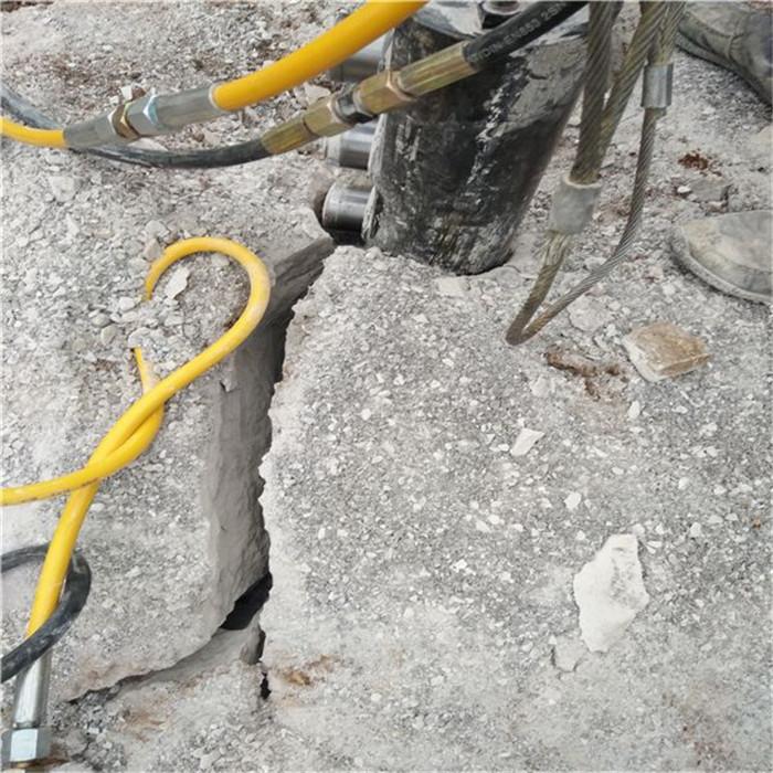 蚌埠巖石脹裂棒 液壓劈石器