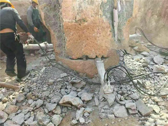 安庆液压开裂岩石工具 液压岩石破开机