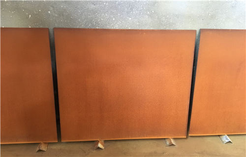 聊城园林锈钢板价格咨询