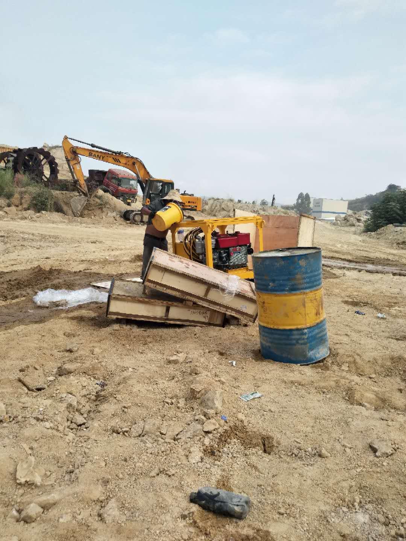 安徽省蚌埠市巖石分裂機礦用裂石機
