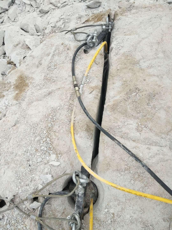 安徽省蚌埠市愚公斧道路擴建巖石分裂機