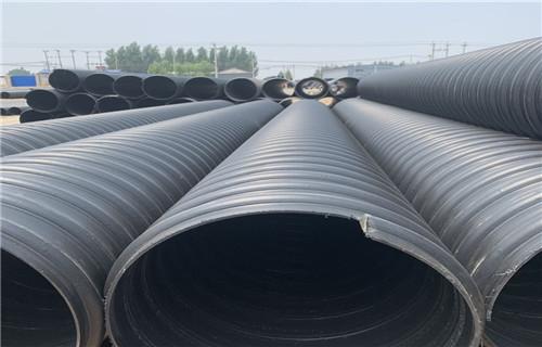 湖南省聚乙烯钢带增强波纹管耐老化