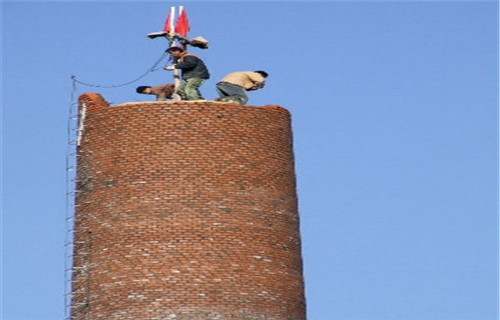 湖南锅炉房砖烟囱拆除公司今日头条