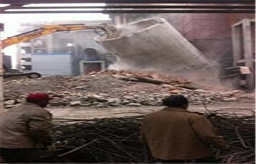 锦州80米水泥烟筒拆除多少钱欢迎来电