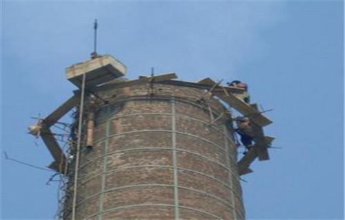 蚌埠磚煙囪維修加固公司領先行業