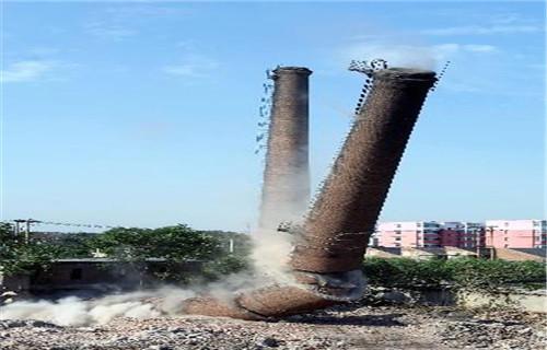 西宁拆除砖烟囱公司-欢迎致电