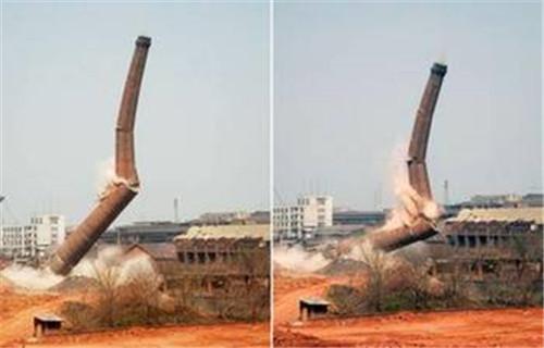 海南锅炉房砖烟囱拆除公司资质齐全