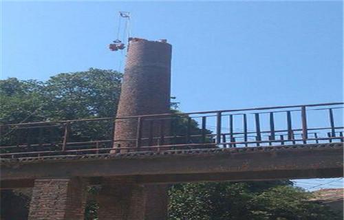 新闻:黔西南水泥烟囱制作安装爬梯