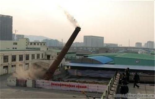 辽宁人工拆除烟囱公司-欢迎致电