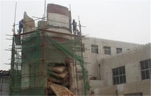西宁锅炉房砖烟囱拆除公司新闻特写