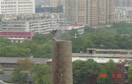 北京锅炉房烟囱拆除价格-欢迎致电