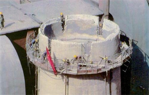 蚌埠60米磚煙囪人工拆除公司-歡迎您光臨
