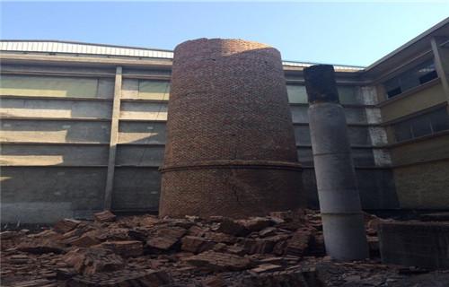 西宁50米砖混烟囱安装平台公司高效益