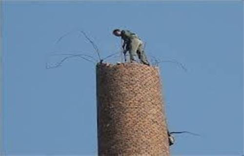新闻:锦州烟囱制作安装转梯公司