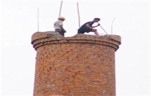 新闻:锦州混凝土烟囱制作安装平台