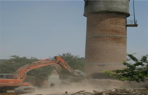 锦州专业拆除30米大烟囱公司施工方案