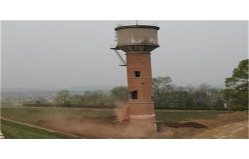 安庆专业拆除30米大烟囱公司专业施工