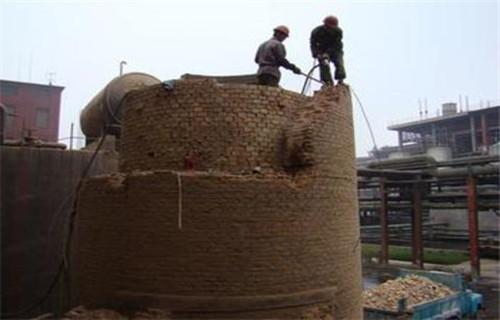 锦州专业拆除60米高烟囱公司在线