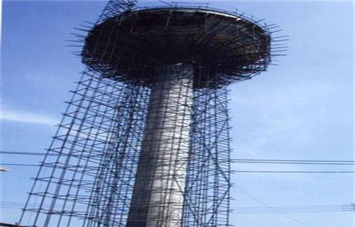 锦州砖厂烟囱维修加固施工新闻报道