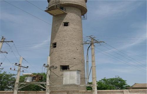 洛阳30米锅炉房烟囱人工拆除价格经验丰富