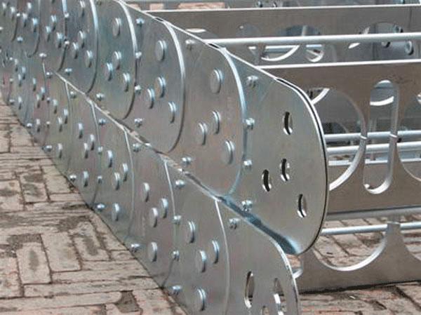 新疆穿线钢铝拖链