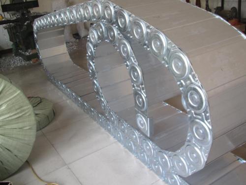 烟台市tlga型钢制拖链