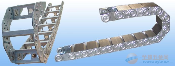 广西穿线钢铝拖链